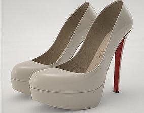 Pro - Louboutin High Heels Shoes 3D