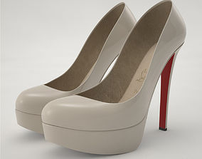 Pro - Louboutin High Heels Shoes 3D