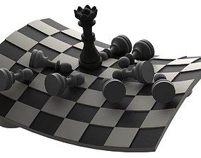 3D print model Chess deco