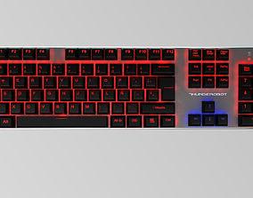 Mechanical Keyboard Thunderobot k70 3D model