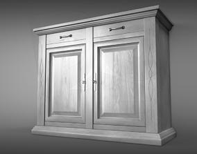 classic Sideboard 3D model PBR