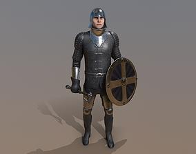 3D model TAB Medieval Knight - 7A - Skin1