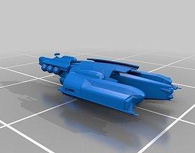 Eve Online - Gallente Destroyers 3D printable model