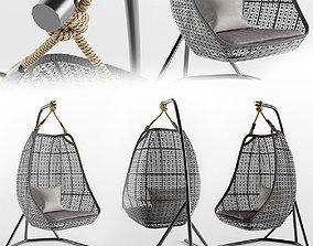 3D seat Garden hanging chair