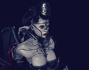 3D asset Demoness Succubus