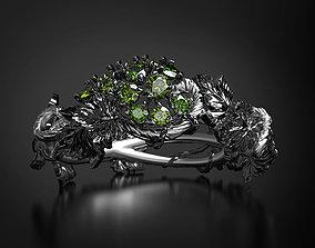 3D print model Green grapes ring