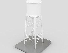 Industrial Water Tank 3D model