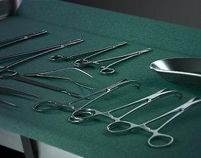 Surgery Tray Set 3D