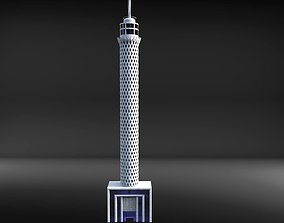 3D egypt Cairo tower