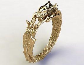 Dragon Ring jewelry 3D print model