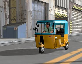 Taxi - three wheeler 3D