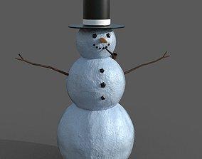 SnowMan 3D model snowman various-models