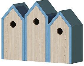 3D Modern Minimalist Birdhouse 2