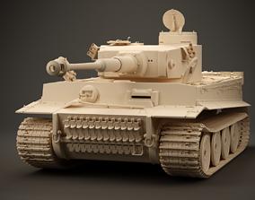 3D model Tiger I