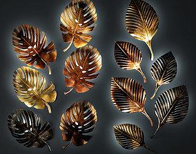 Eurolamp Art Luxury Leaves 3D