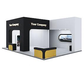 3D exhibition pavilion 01