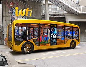 Inti Electric Bus 3D