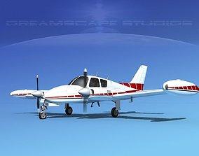 Cessna 310 V09 3D model