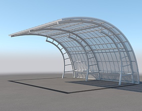 3D Carport Design With Steel Construction 5