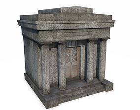 Mausoleum 3 PBR 3D asset