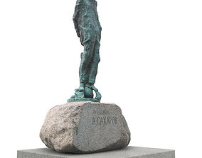 Monument to academician Sakharov 3D