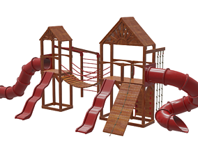 Playground Modular Assets Realistic 3D model
