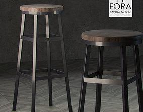 3D model Fora furniture stool