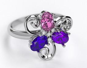3D printable model jewellery beryl Ring