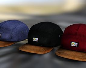 3D model Caps BabyBrtothers 3 colors