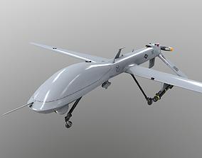 Drone MQ-1A Predator 3D asset