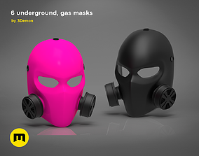 3D printable model Pink Gas Mask - 6