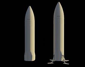 3D printable model SpaceX Starship Moon Lander - Artemis 3