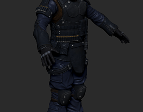3D SWAT style Game Character