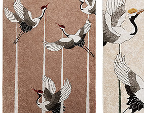 3D model Rugs Rugsociety - Heron 2 colors