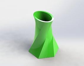 3D print model Decorative Flower Pot 19