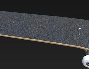 3D model Skateboard for any game engine