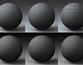 Displacement Landscape Shader 016 3D model