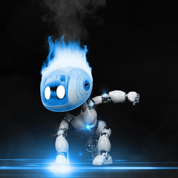 Cute Robot 5 Female