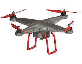 3D model DIY Drone Quad Copter