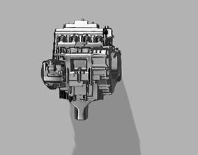 3D model Engine Honda CBR 600RR
