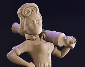 games 3D print model The Riveter