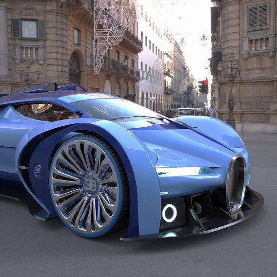 Bugatti Type 57 (Alexander Imnadze Concept )