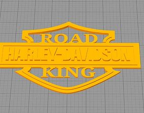 Harley Davidson Road King 3D print model