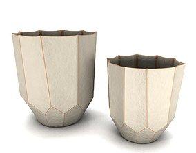 3D Apex ceramic Vase