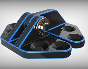 3D printable model Door hinge support