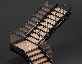 Donyavi L stair 3D model