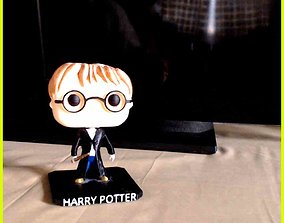 3D print model Harry Potter Funko Pop