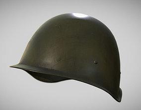3D asset Soviet Word War Helmet