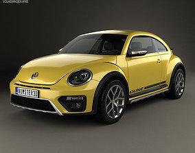 Volkswagen Beetle Dune 2016 germany 3D
