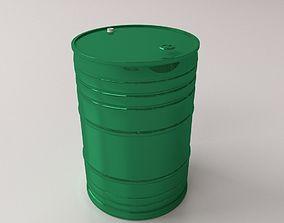 3D Oil Drum